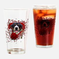 Valentines - Key to My Heart Swissie Drinking Glas