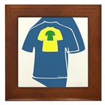 Graphic Colorful T-shirts Framed Tile