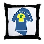 The MulteeShirt Throw Pillow
