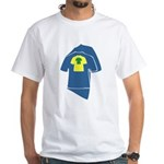 Graphic Colorful T-shirts White T-Shirt