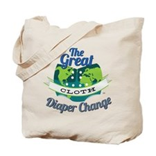 Great Cloth Diaper Change Tote Bag