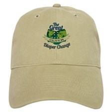 Great Cloth Diaper Change Baseball Cap