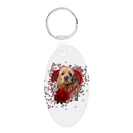 Valentines - Key to My Heart Cocker Spaniel Alumin