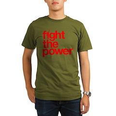 Fight the Power Organic Men's T-Shirt (dark)