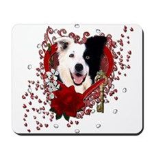 Valentines - Key to My Heart Border Collie Mousepa