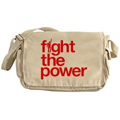Fight the Power Messenger Bag