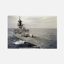 USS FRANCIS HAMMOND Rectangle Magnet