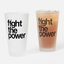 Fight the Power Drinking Glass