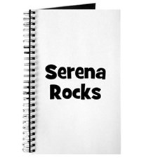 Serena Rocks Journal