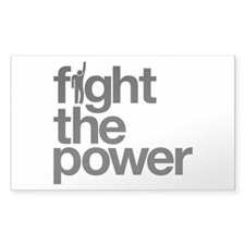 Fight the Power Decal
