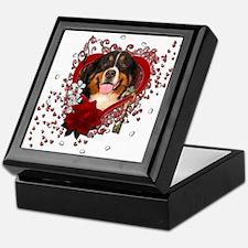 Valentines - Key to My Heart Bernie Keepsake Box