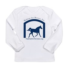 Cute Equine rescue Long Sleeve Infant T-Shirt