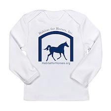 Unique Equine rescue Long Sleeve Infant T-Shirt