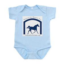Cute Equine rescue Infant Bodysuit