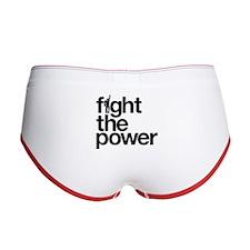 Fight the Power Women's Boy Brief