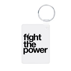 Fight the Power Keychains