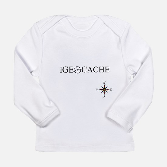 iGEOCACHE Long Sleeve Infant T-Shirt