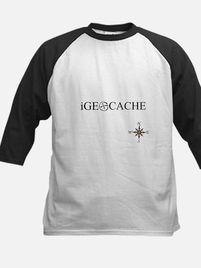 iGEOCACHE Kids Baseball Jersey