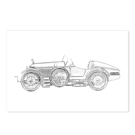 Amilcar 1921 French Automobile Postcards (Package
