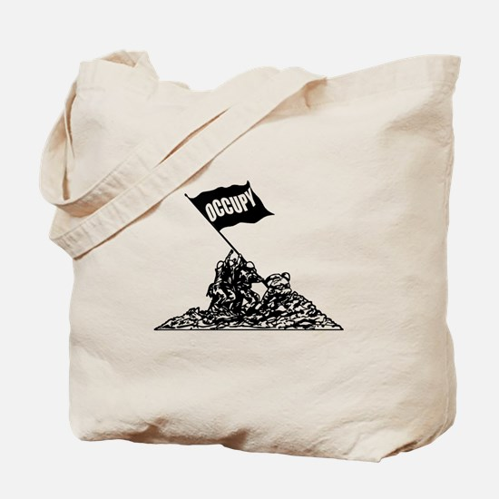 Iwo Jima Occupy Tote Bag