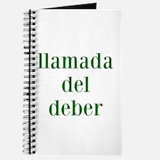 llamada del deber COD Spanish Journal