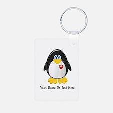 Customizable Penguin Keychains