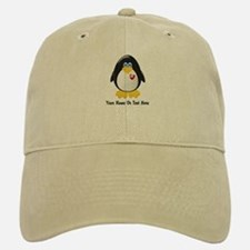Customizable Penguin Baseball Baseball Cap
