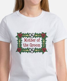 Mother of the Groom Tropical Women's T-Shirt