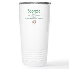 Scorpio Water Travel Mug