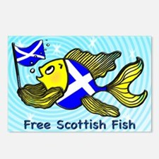 Free Scottish Fish Postcards (Package of 8)