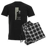 Lot to Think About Men's Dark Pajamas