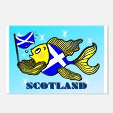 Scotland Fish Postcards (Package of 8)