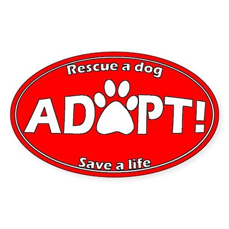 Adopt Sticker (Red)