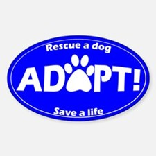 Adopt Sticker (Blue)
