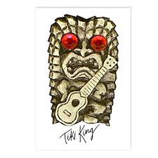 Ukulele Playing Tiki Postcards (Package of 8)