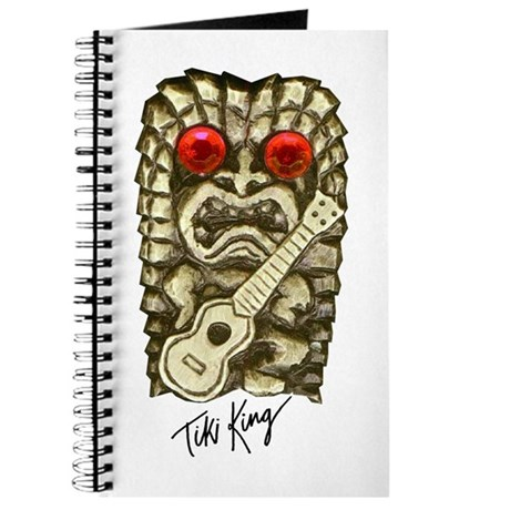 Ukulele Playing Tiki Journal