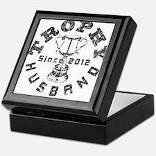 Trophy Husband Since 2012 Keepsake Box