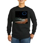 Eclipsed Beach Collection Long Sleeve Dark T-Shirt