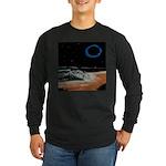 Eclipsed Beach Collection Long Sleeve Dark T-Shirt