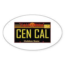Cen Cal -- T-Shirt Decal