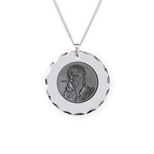 Obama Nose Pick Coin Spoof 20 Necklace