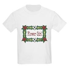 Flower Girl Tropical Kids T-Shirt