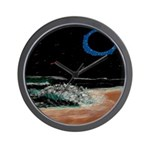 Eclipsed Beach Collection Wall Clock