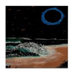 Eclipsed Beach Collection Tile Coaster