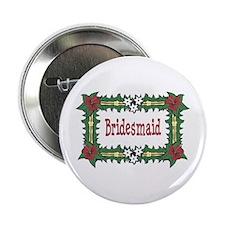 Bridesmaid Tropical Button