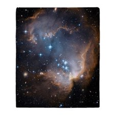 NGC 602 Throw Blanket