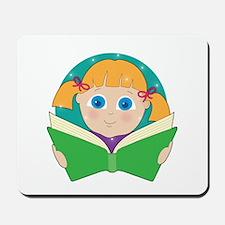 Child Reading Mousepad