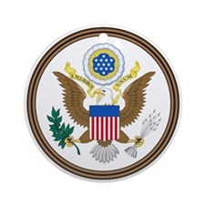 US Great Seal - Obverse Ornament (Round)
