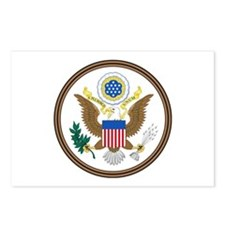 US Great Seal - Obverse Postcards (Package of 8)