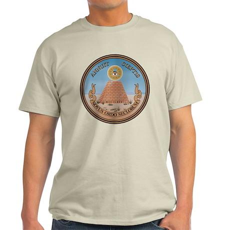 US Great Seal - Reverse Light T-Shirt